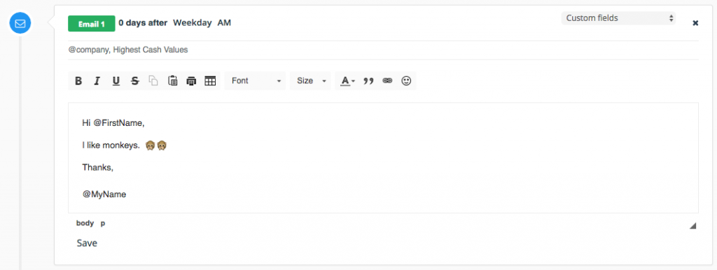 improve subject line